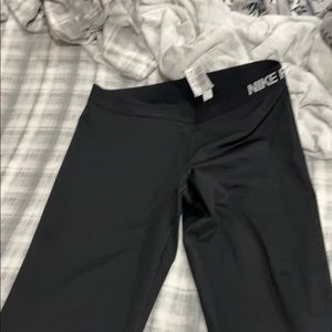 Silky Nike cropped leggings
